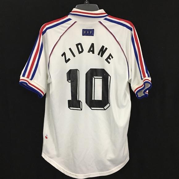 e5b98afd289 adidas Other - France Football Jersey 1998 World Cup Zidane M